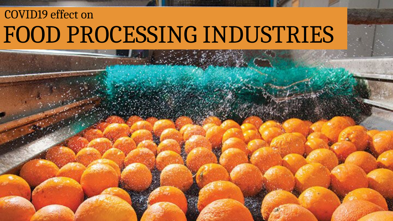 Food Processing Industry Effect from COVID19